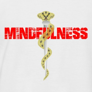 mindfulness - Men's Baseball T-Shirt