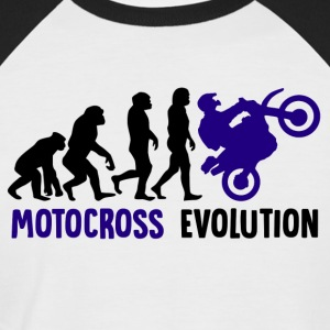 ++Motocross Evolution++ - Männer Baseball-T-Shirt