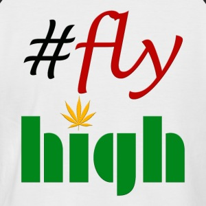 #flyhigh - T-shirt baseball manches courtes Homme