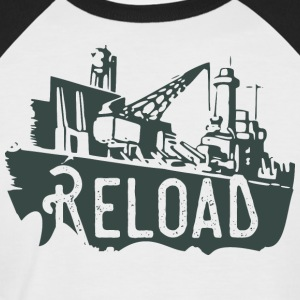 Reload - Männer Baseball-T-Shirt