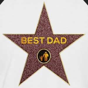 Best dad - Männer Baseball-T-Shirt