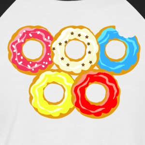 donuts - Men's Baseball T-Shirt