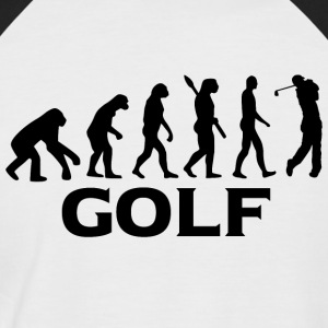 Evolution golf golfspiller golf bt - Kortærmet herre-baseballshirt