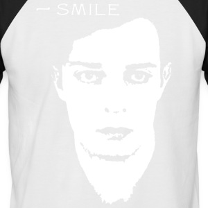 BUSTER_KEATON_SMILE - Men's Baseball T-Shirt