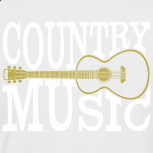 Country music - Men's Baseball T-Shirt