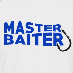 Master Baiter - Fishing - Männer Baseball-T-Shirt
