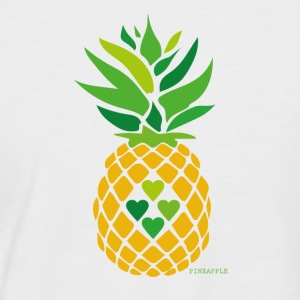 Love Pineapple - Men's Baseball T-Shirt