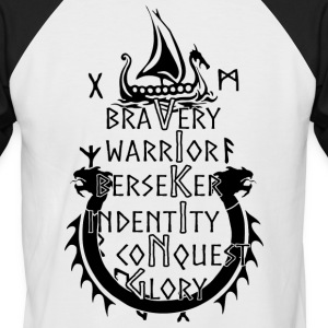 Viking - Bravery, Warrior, Berserker, Identity, ... - Men's Baseball T-Shirt