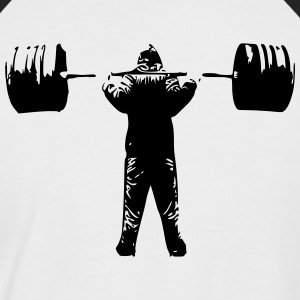 squat Barbell - T-shirt baseball manches courtes Homme