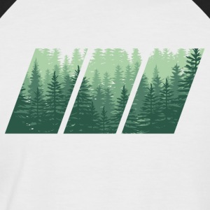 WOOD - Männer Baseball-T-Shirt