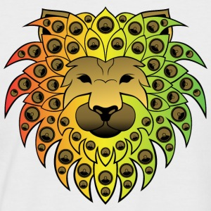 ragga sound lion - Männer Baseball-T-Shirt