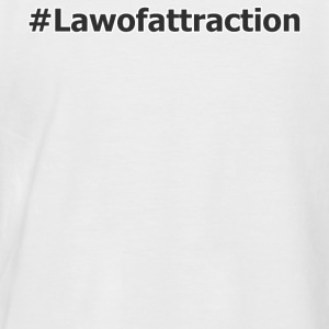 hahstag lawofattraction - T-shirt baseball manches courtes Homme