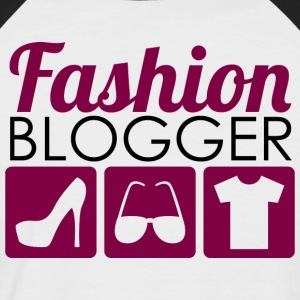 Fashion Blogger - Männer Baseball-T-Shirt