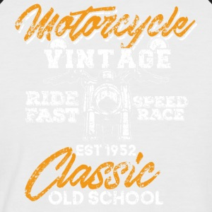 Motorcycle - Ride Fast, Speed Race - Men's Baseball T-Shirt