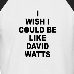 DAVID WATTS - T-shirt baseball manches courtes Homme