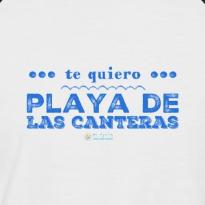 I love Playa de Las Canteras - Men's Baseball T-Shirt