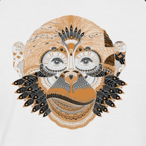 Monkey - Men's Baseball T-Shirt