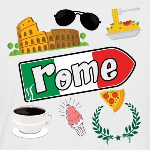 I love Rome - Men's Baseball T-Shirt