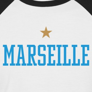 Marseille - T-shirt baseball manches courtes Homme