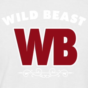 WILDBEAST - show your Power - Men's Baseball T-Shirt