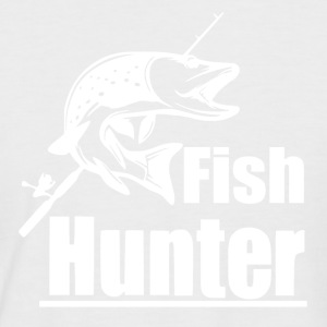 Fish Hunter - Fishing - Men's Baseball T-Shirt