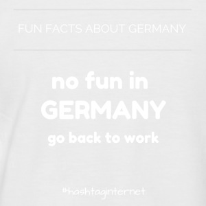 fun facts about Germany no fun in Germany go back - Männer Baseball-T-Shirt