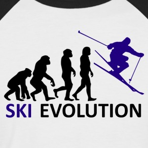 ++ ++ Ski Evolution - Kortermet baseball skjorte for menn