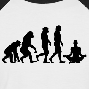 ++ ++ YOGA EVOLUTION - Men's Baseball T-Shirt