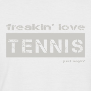 amour TENNIS - lumineux T-shirt - T-shirt baseball manches courtes Homme