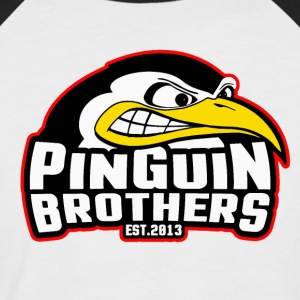 Pinguin-Brothers Clan - Kortermet baseball skjorte for menn