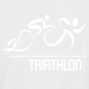 Triathlon - Men's Baseball T-Shirt