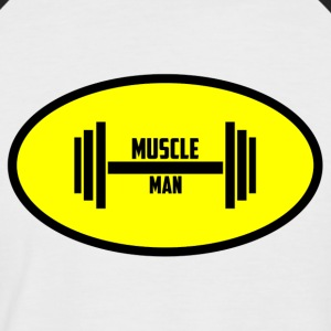 Muscle Man - T-shirt baseball manches courtes Homme