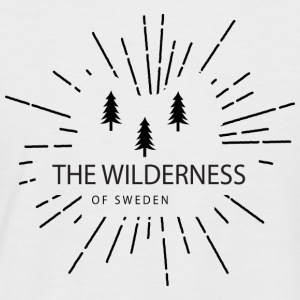 The Wilderness Of Sweden - T-shirt baseball manches courtes Homme
