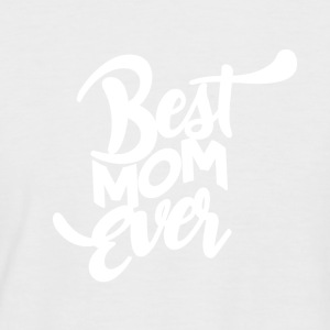 BEST MOM EVER - Mothersday - Kortermet baseball skjorte for menn