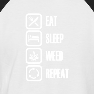 SMOKE WEED EVERY DAY - Men's Baseball T-Shirt