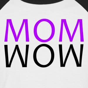 ++ ++ MOM WOW - T-shirt baseball manches courtes Homme