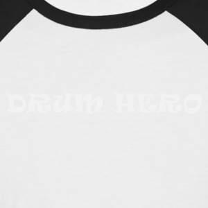 Drum Hero 5 (2244) - Männer Baseball-T-Shirt