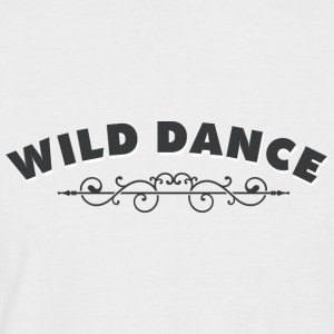 WILD DANCE with ornament - Men's Baseball T-Shirt