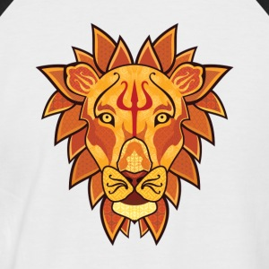 Lion - T-shirt baseball manches courtes Homme