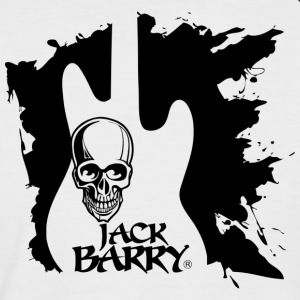 Jack Barry Skull 4 - Kortermet baseball skjorte for menn