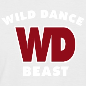 WILD DANCE BEAST - Men's Baseball T-Shirt
