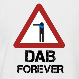 Dab Forever Red - Men's Baseball T-Shirt