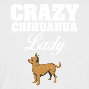 Crazy Chihuahua lady dog ​​lover - Men's Baseball T-Shirt