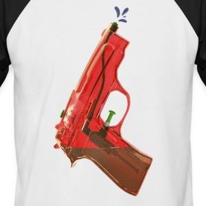 Red water pistol - Men's Baseball T-Shirt