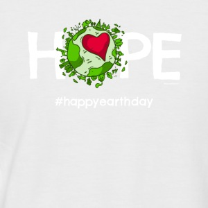 Beautiful Earth TShirt featuring Happy Earth Day - Männer Baseball-T-Shirt