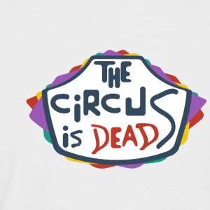 The Circus is dead - Men's Baseball T-Shirt