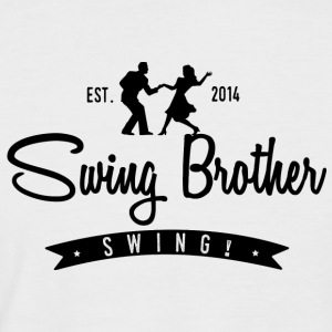 Swing brother Swing - Kortermet baseball skjorte for menn