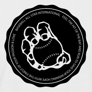 Baseball International - Männer Baseball-T-Shirt