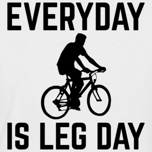 Everyday is Leg Day - Men's Baseball T-Shirt