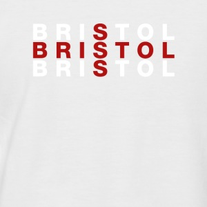 Bristol United Kingdom Flag Shirt - Bristol - Männer Baseball-T-Shirt